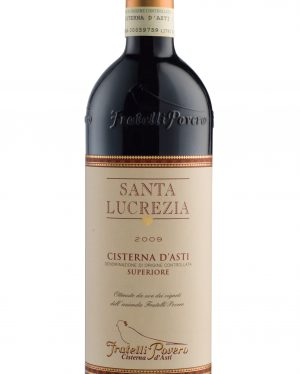 Santa Lucrezia Cisterna d' Asti DOC superiore 2015