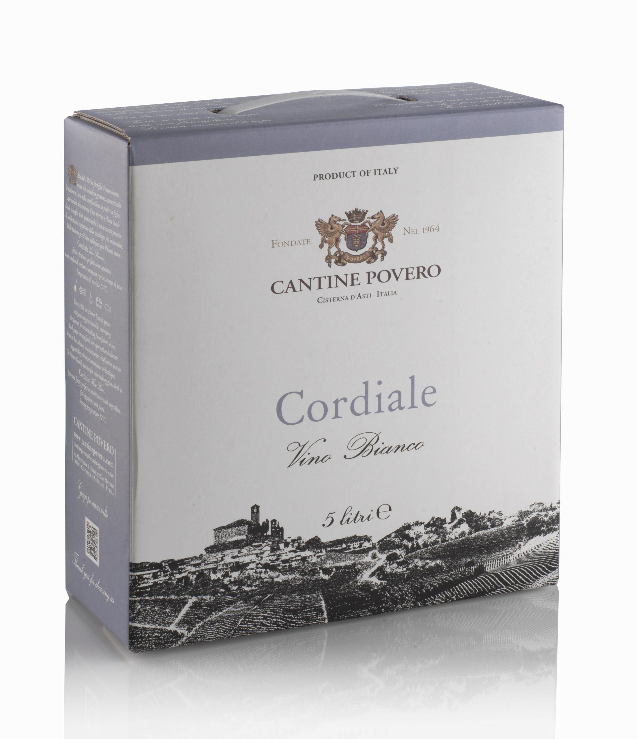 Cordiale Vino Bianco 11,5% 5LT