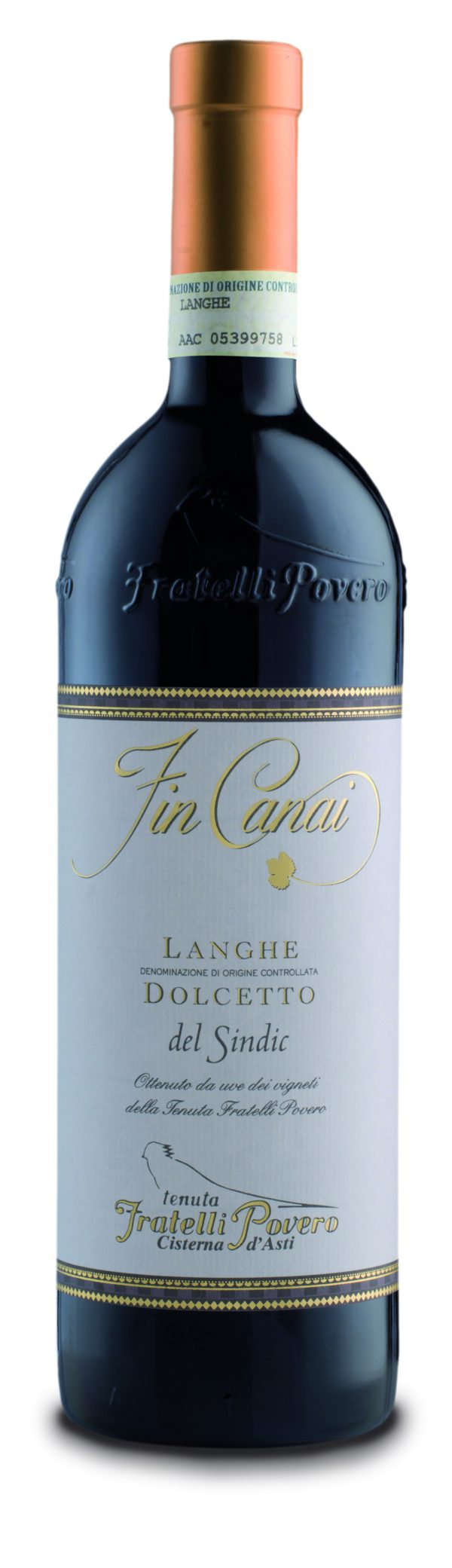Fin Canai Langhe Dolcetto DOC 2019