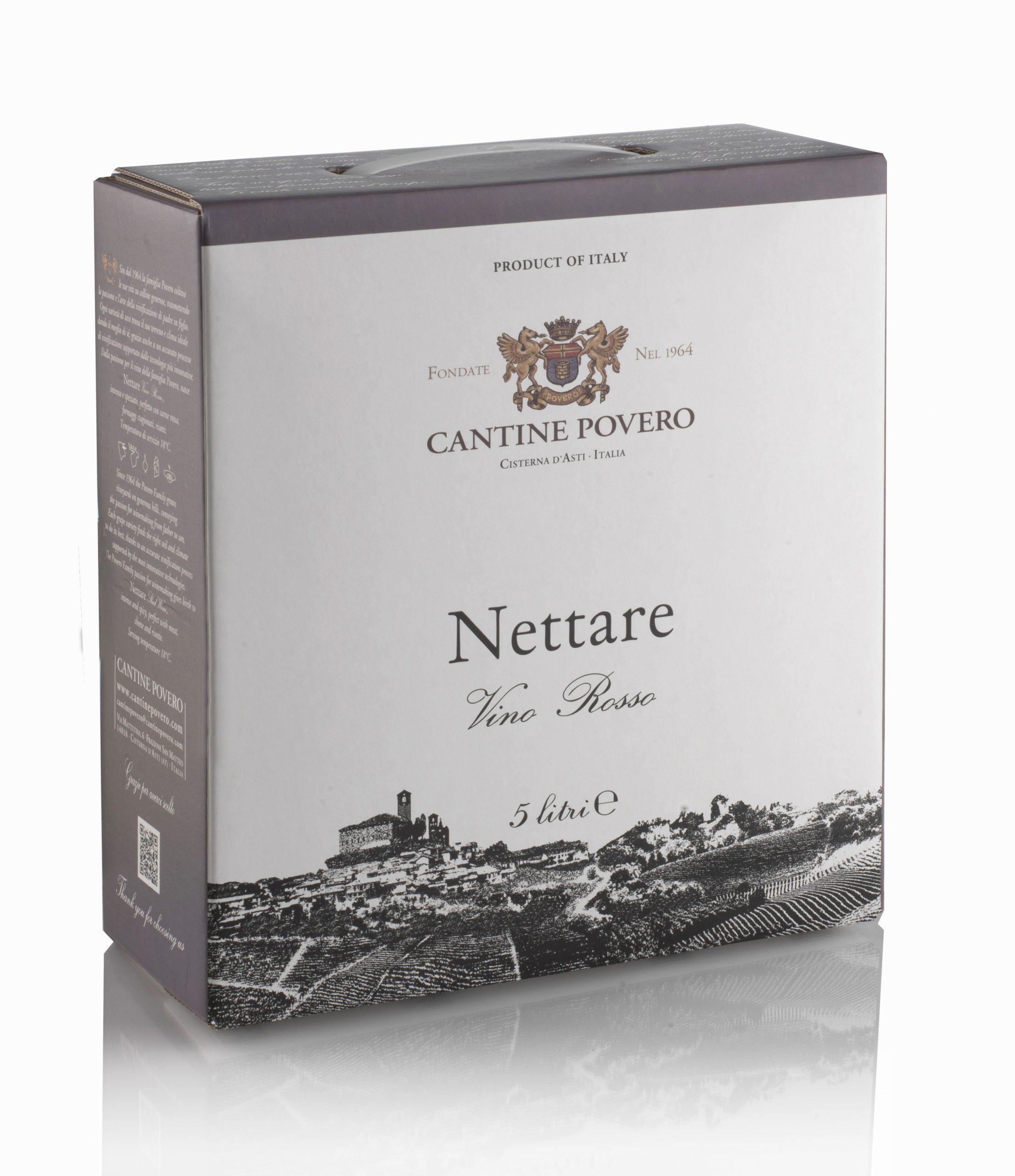 Nettare Vino Rosso 13,5% 5LT