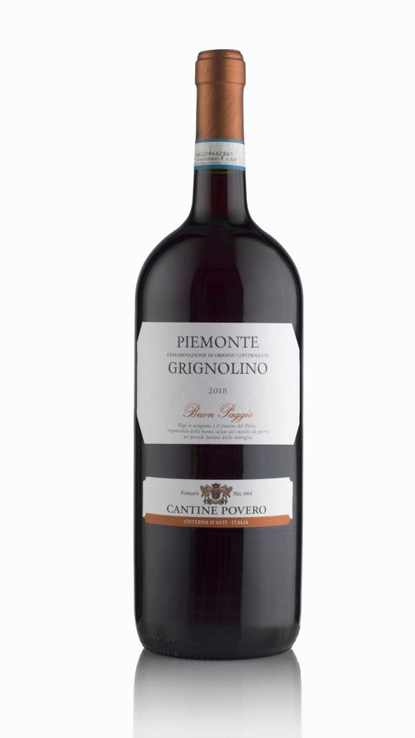 Buon Paggio Piemonte Grignolino DOC 2019 Magnum