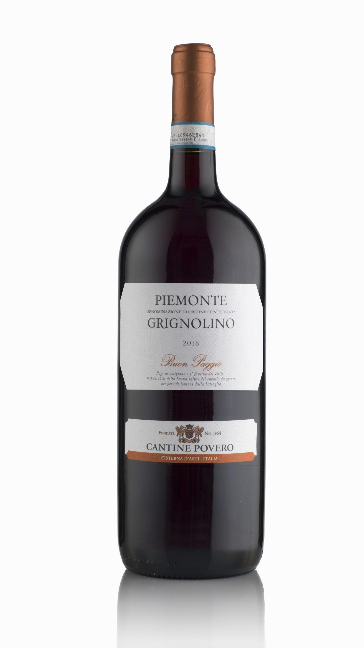Buon Paggio Piemonte Grignolino DOC 2020 Magnum