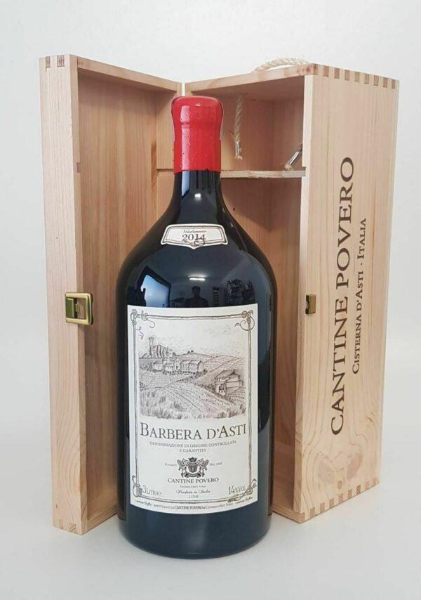 Cantine Povero Jéroboam Barbera d'Asti