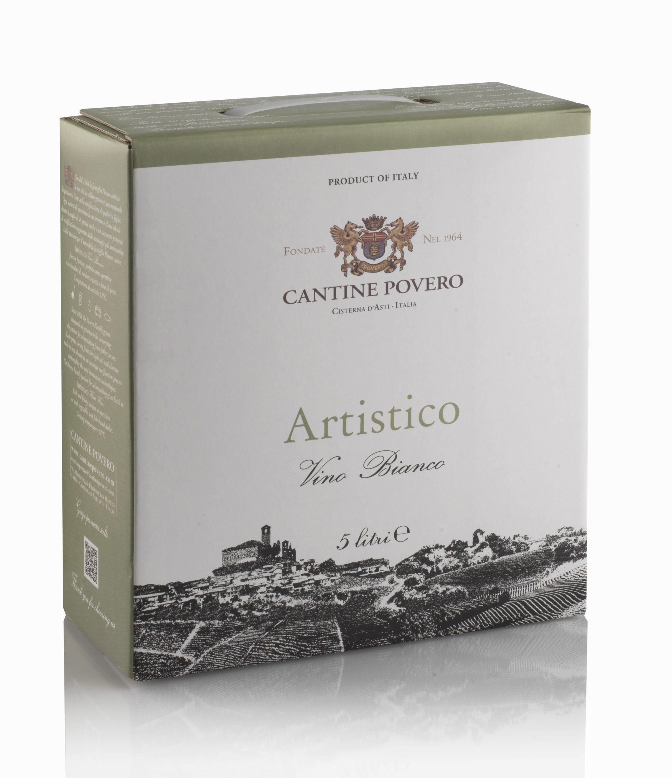 Artistico Vino Bianco 12,5% 5LT