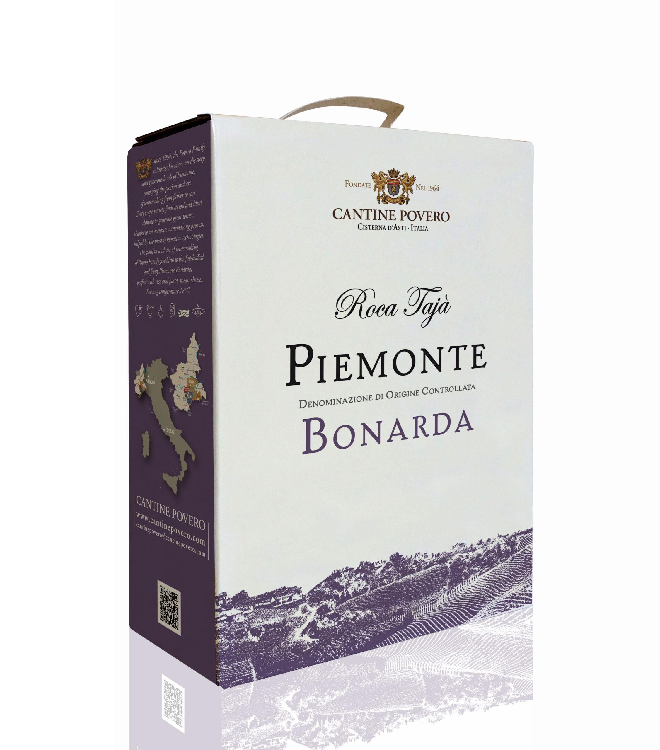 Roca Tajà Piemonte DOC Bonarda 3LT 12,5%